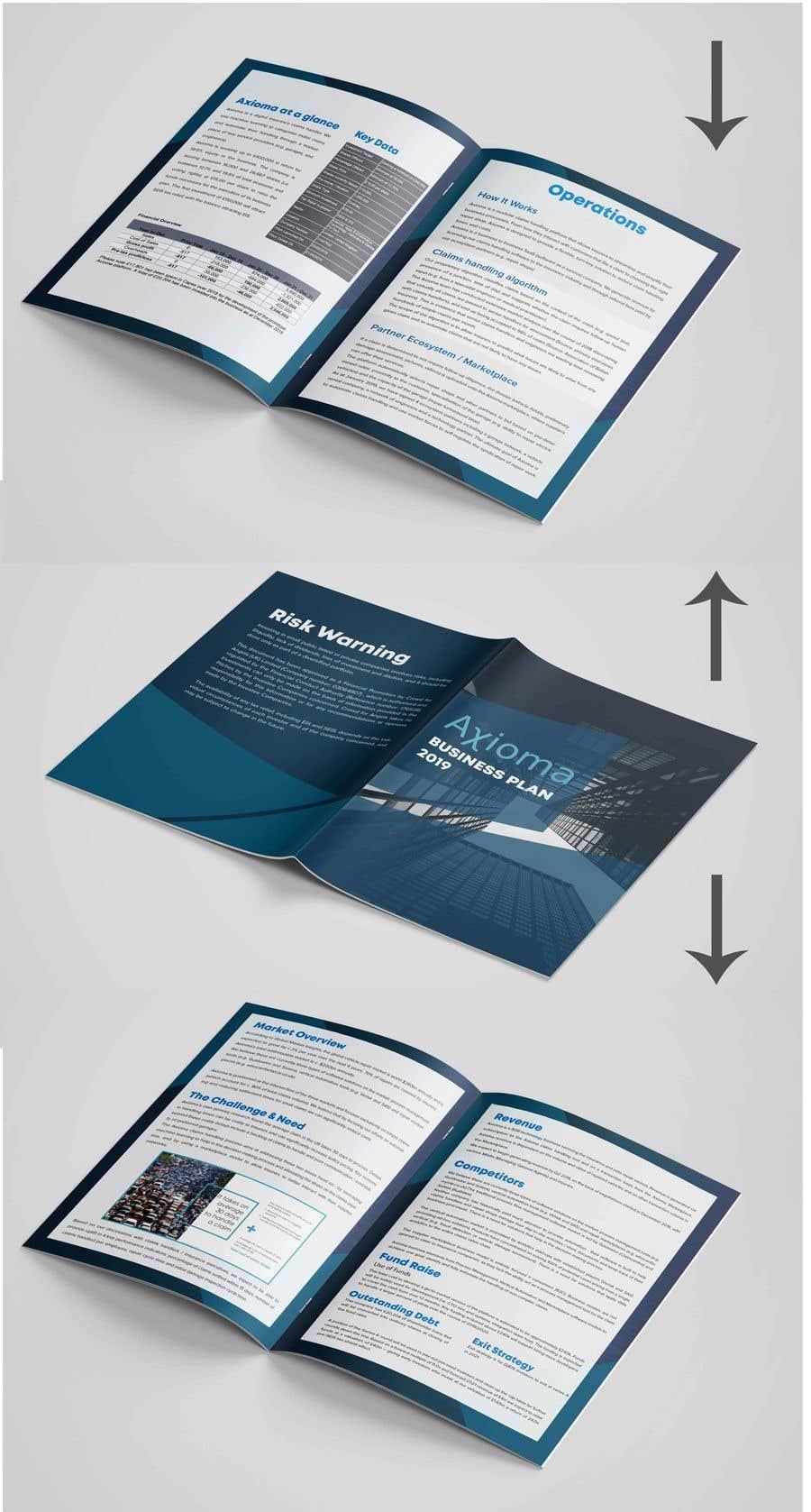 Penyertaan Peraduan #28 untuk 6 page business brochure/report design