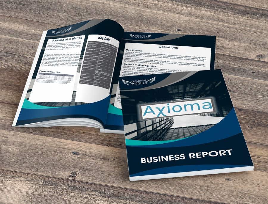 Penyertaan Peraduan #24 untuk 6 page business brochure/report design