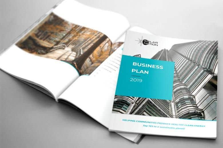 Penyertaan Peraduan #7 untuk 6 page business brochure/report design
