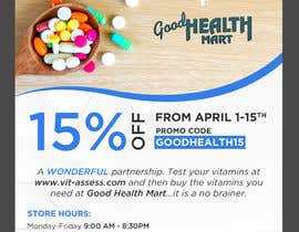 #50 cho Advertisement for Health Store flyer bởi webcreadia