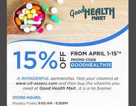 #50 para Advertisement for Health Store flyer por webcreadia