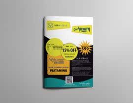 #17 para Advertisement for Health Store flyer por dixitpatel012345
