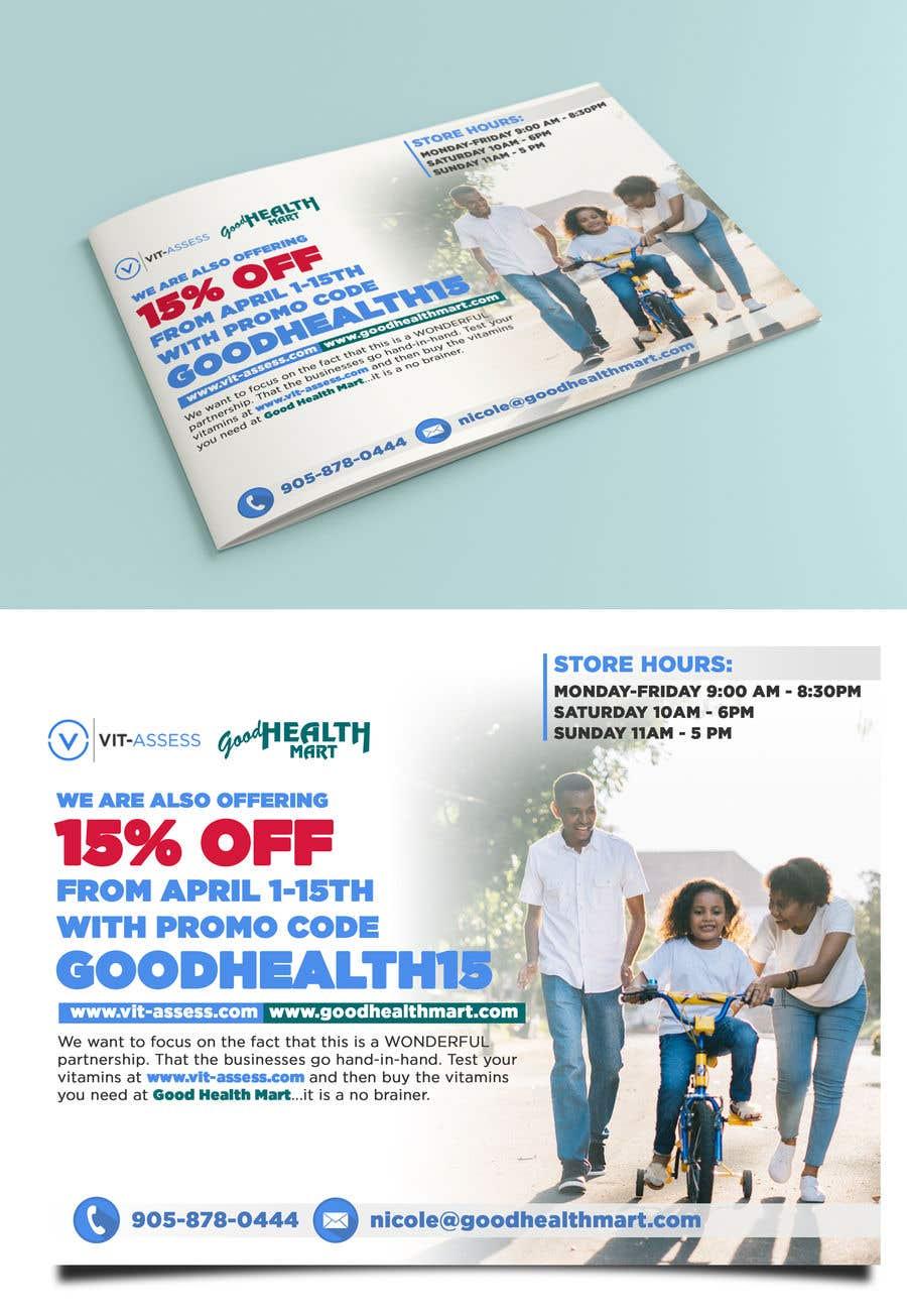 Inscrição nº 34 do Concurso para Advertisement for Health Store flyer