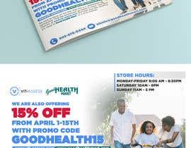 #34 para Advertisement for Health Store flyer por anirbanoddar1987