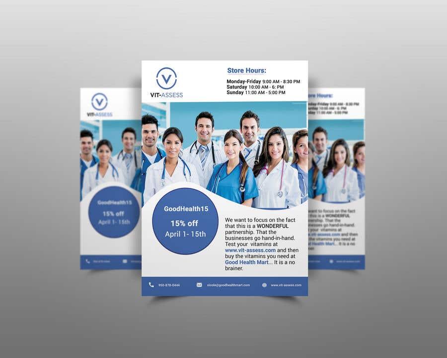 Inscrição nº 53 do Concurso para Advertisement for Health Store flyer
