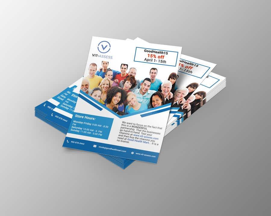 Inscrição nº 64 do Concurso para Advertisement for Health Store flyer