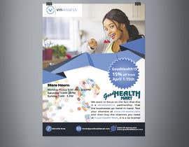#94 para Advertisement for Health Store flyer por Sultan120