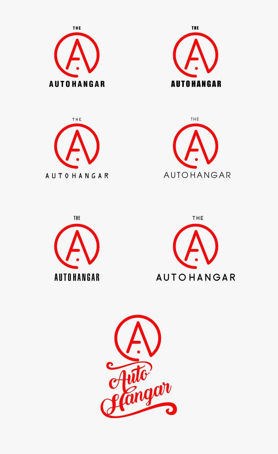 Penyertaan Peraduan #455 untuk Unique logo for an auto dealership in an airport hangar!