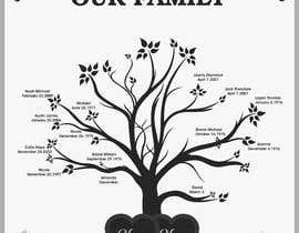 Nro 33 kilpailuun Design me a family tree käyttäjältä AsterAran28