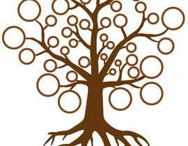 Nro 43 kilpailuun Design me a family tree käyttäjältä aamnamistic