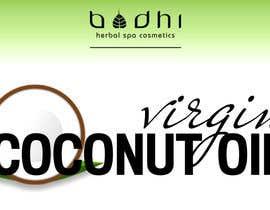 #5 para Virgin Coconut Oil label design por MiriamPrince