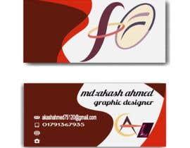 Nro 48 kilpailuun Design business cards käyttäjältä akashahmed751202