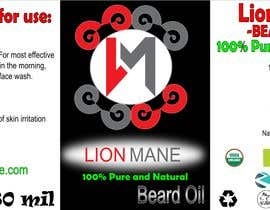 "#27 para I need to design a label for my beard oil brand. The brand is called ""Lion Mane"". por andjelavr93"