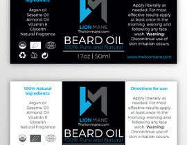 "nº 24 pour I need to design a label for my beard oil brand. The brand is called ""Lion Mane"". par b3ast61"