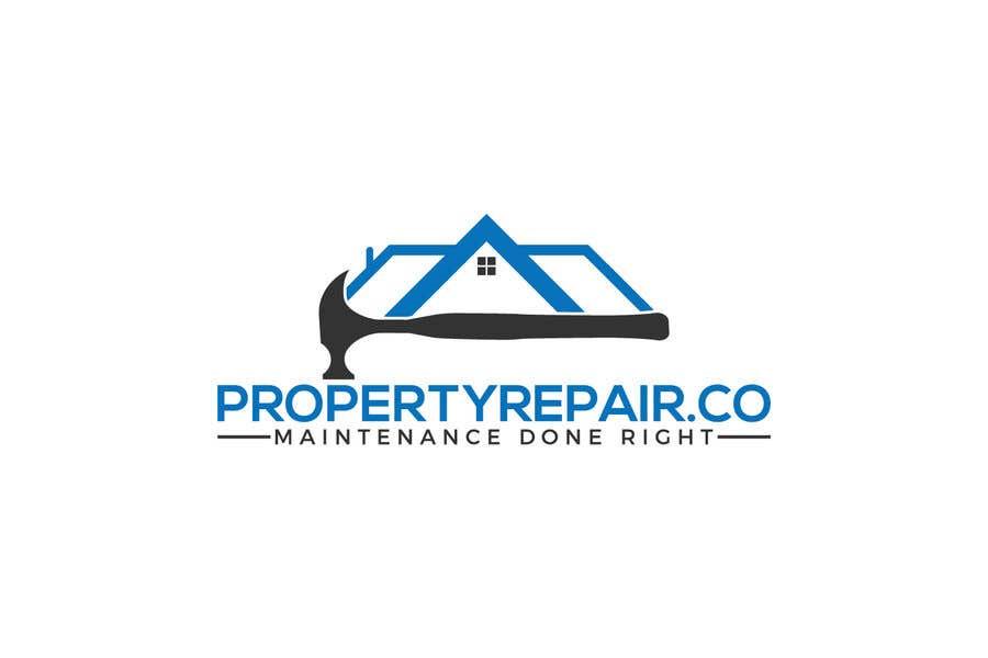 Penyertaan Peraduan #169 untuk Logo design for property repair