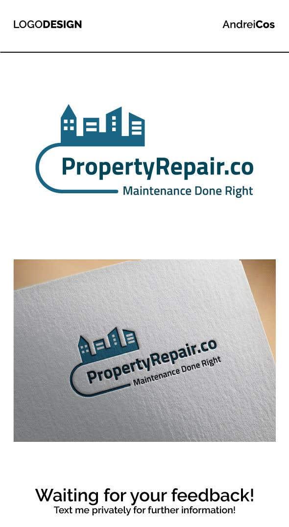 Konkurrenceindlæg #27 for Logo design for property repair