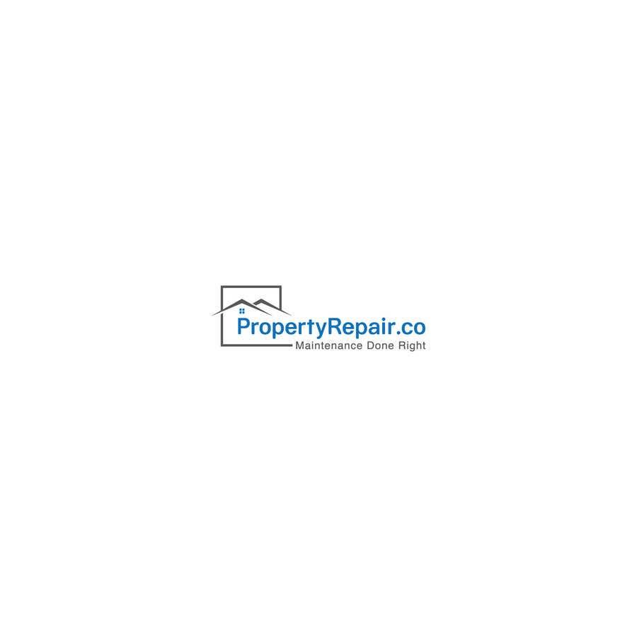 Penyertaan Peraduan #234 untuk Logo design for property repair