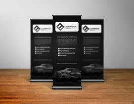#137 para design a retractable banner with graphics and wording por biswasshuvankar2