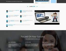#21 for Redesign my landing page by mjsteadfast