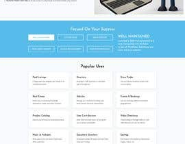 #18 for Redesign my landing page by razediamond