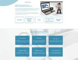#35 for Redesign my landing page by mdziakhan