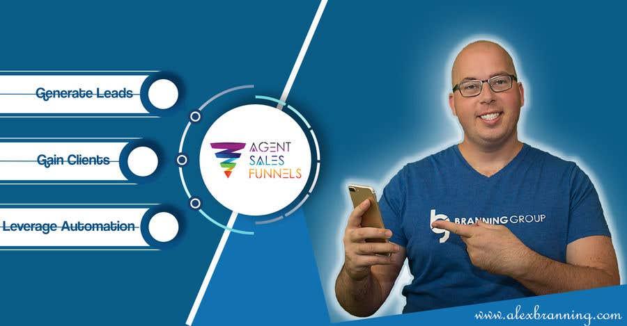 """Konkurrenceindlæg #44 for Facebook Cover Photo for """"Agent Sales Funnels"""""""