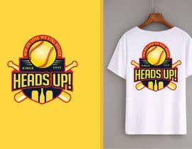 #93 untuk Logo designed for Baseball Team oleh fourtunedesign