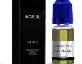 #3 for Marvel oil box & bottle information placed on to just nic it box bottle, green liquid blue lid af ptriantafillis