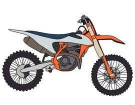 #5 for Illustration Motorbike by ellengemback