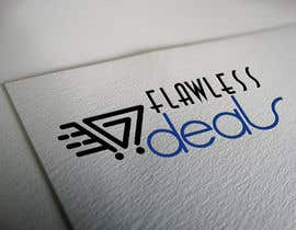 #70 untuk Re-design Illustrator file attached. Flawless Deals Logo Improvement oleh alamsagor