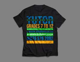 #35 for Beautiful T-shirt Design for private tutoring by RibonEliass