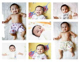 #52 for Wanted create a collage poster/frame for my baby boy (frame size 18'Inch x 24 inch/14inch x 18 inch) by Lorenaavlis