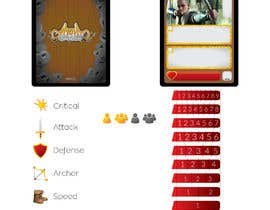 #44 for GUARANTEED :  Design and illustrate a template for my card game by vidojevic