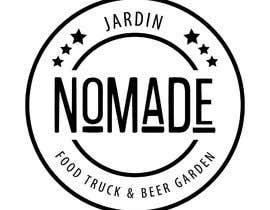 """#48 cho A partir del logo adjunto debe crear uno que incluye todo menos """"nro.170"""", """"mallinkrodt"""" cambia por """"nomade"""", """"craft beer"""" cambia por """"beer garden"""" es decir, incluir: jardin, Nomade, food trucks & beer garden bởi mariaperezart"""