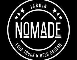 """#50 cho A partir del logo adjunto debe crear uno que incluye todo menos """"nro.170"""", """"mallinkrodt"""" cambia por """"nomade"""", """"craft beer"""" cambia por """"beer garden"""" es decir, incluir: jardin, Nomade, food trucks & beer garden bởi mariaperezart"""