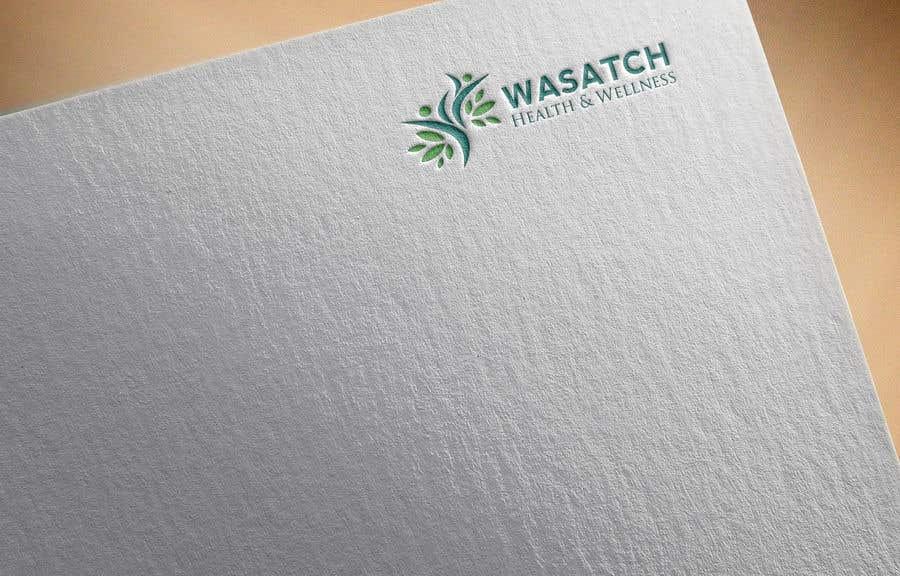 Penyertaan Peraduan #102 untuk Wasatch Health & Wellness medical clinic Logo