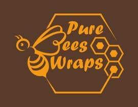 """#91 untuk Design """"Pure Bees Wraps"""" Logo and Box Design oleh Msun7"""