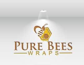 """#101 untuk Design """"Pure Bees Wraps"""" Logo and Box Design oleh mh743544"""