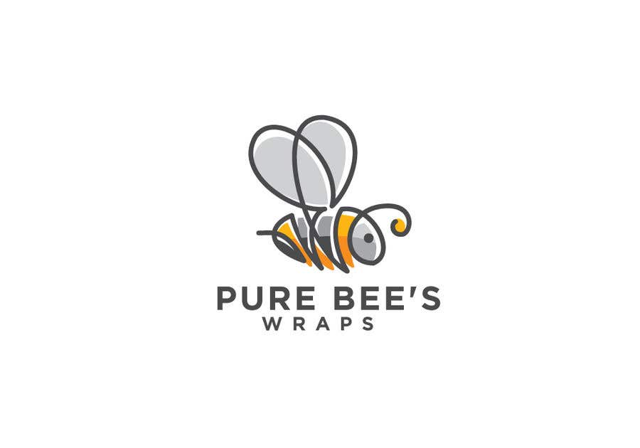 """Contest Entry #35 for Design """"Pure Bees Wraps"""" Logo and Box Design"""