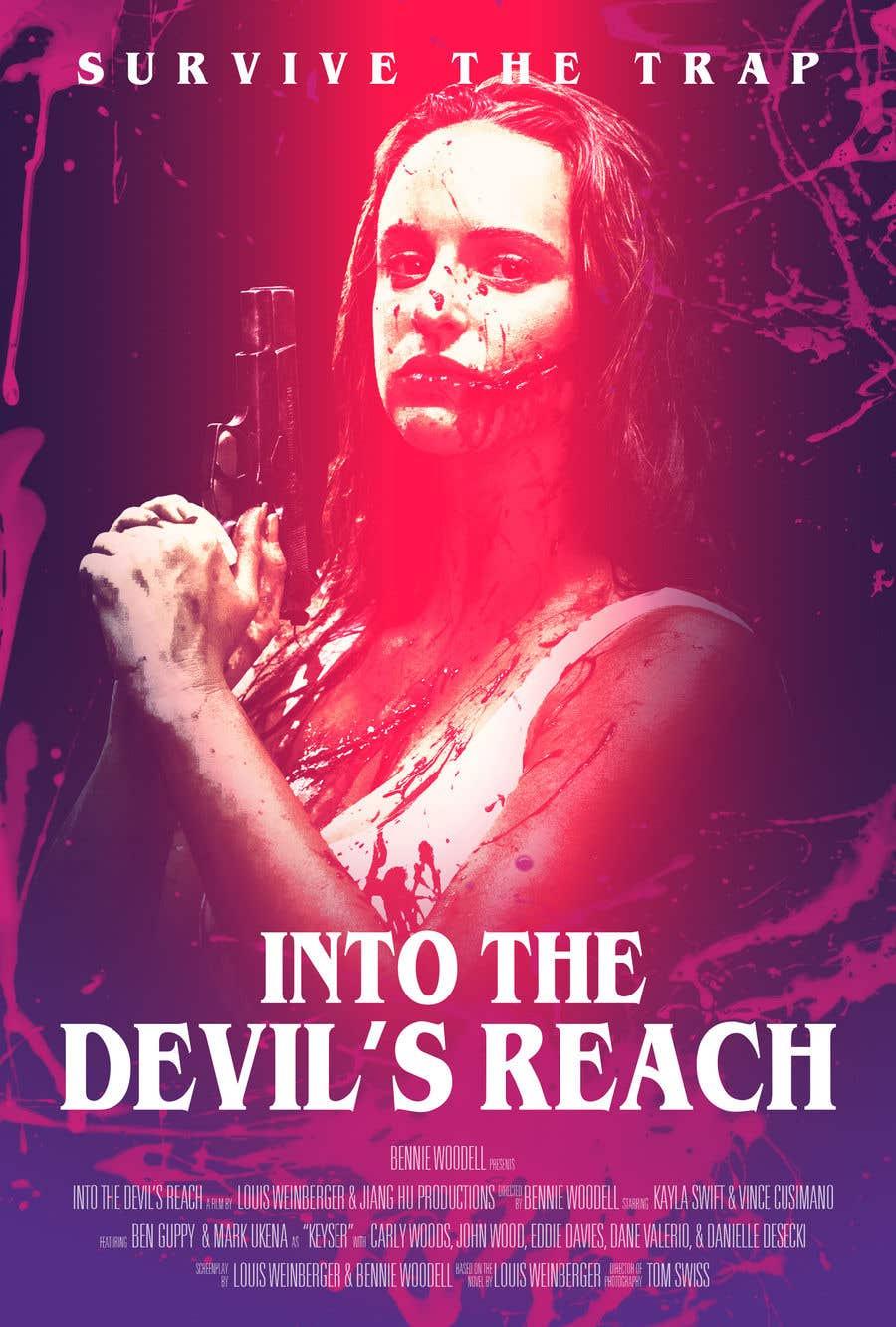 "Kilpailutyö #42 kilpailussa Create a Movie Poster for ""Into the Devil's Reach"""
