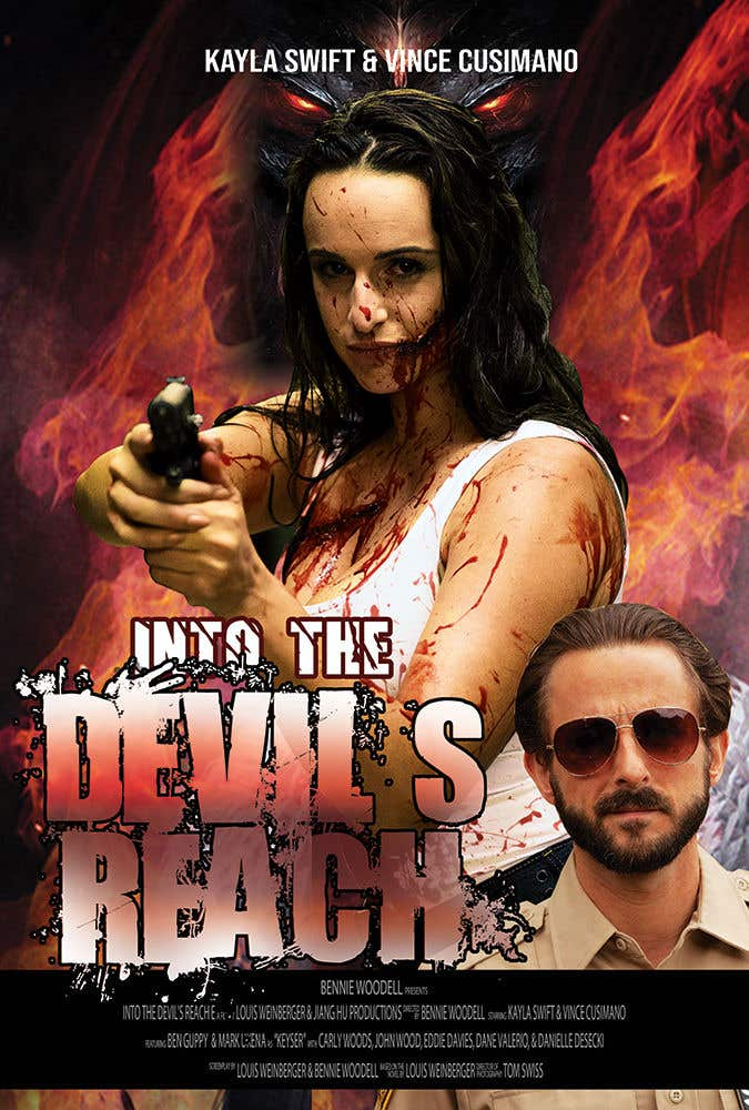 "Kilpailutyö #55 kilpailussa Create a Movie Poster for ""Into the Devil's Reach"""