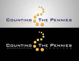 #145 za Logo Design for Counting The Pennies Bookkeeping Services od olenka31