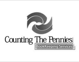#62 para Logo Design for Counting The Pennies Bookkeeping Services por HappyJobdone