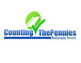 #114 untuk Logo Design for Counting The Pennies Bookkeeping Services oleh conzlab