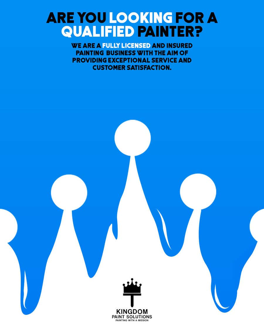Proposition n°40 du concours Labour Painting flyer and logo