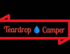 #7 para Design a badge for a Teardrop Camper Trailer por tamizuddin