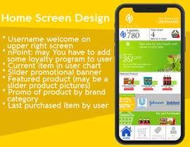 #3 for Mockup / design of nutrition App af jerrymarbels