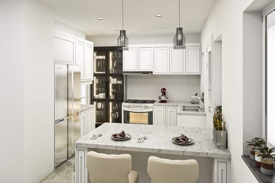 Penyertaan Peraduan #22 untuk Interior Design of our New Kitchen