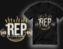 #181 for T-Shirt Design - 1 Rep by RibonEliass