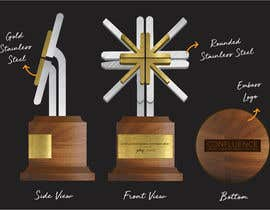 #2 untuk Design a trophy for a corporate awards event - Urgent oleh amostco